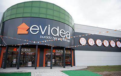 Evidea, Neomarin AVM'de Açıldı!