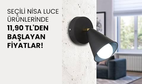 Seçili Nisa Luce Ürünlerinde 11,90 TL'den Başlayan Fiyatlar