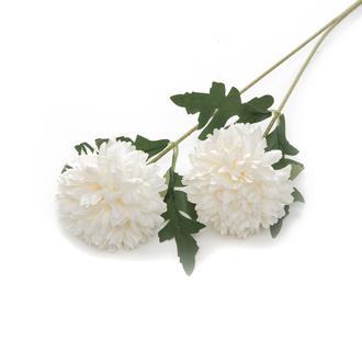 Q-Art Soft 2'li Yapay Çiçek - Krem