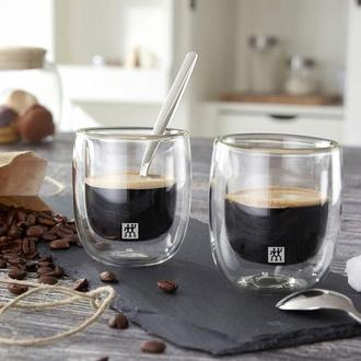 Zwilling Sorrento 2'li Çift Camlı Espresso Bardağı - 80 Ml.