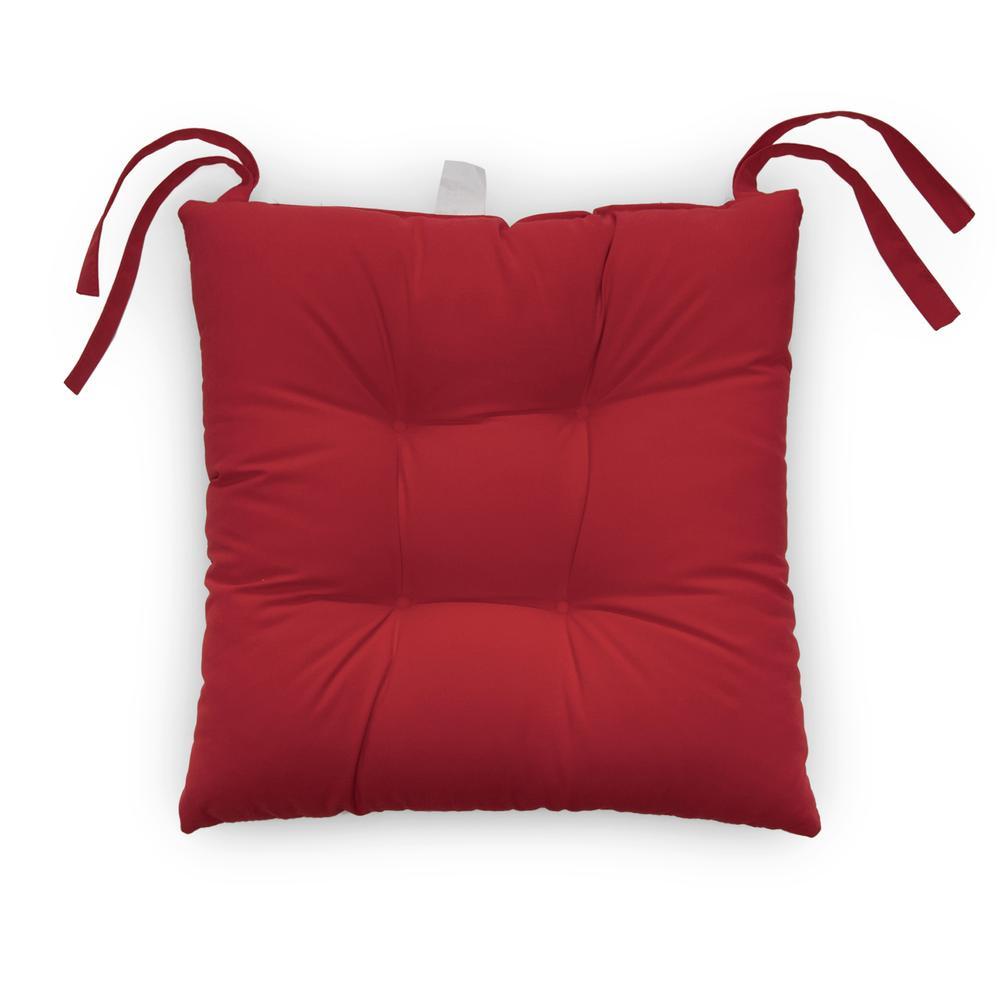 Iris Home Sandalye Minderi (Kırmızı) - 40x40 cm