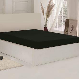 Açelya Penye Çarşaf Tek Kişilik (Siyah) - 100x200 cm