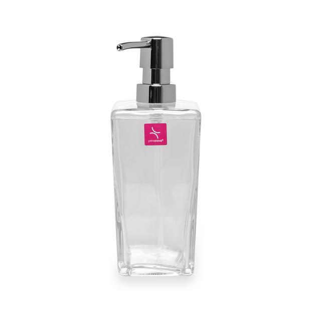 Primanova Biga Sıvı Sabunluk - Şeffaf / Krom