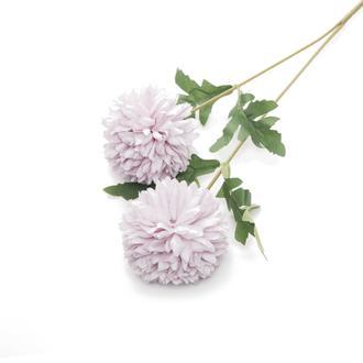 Q-Art Soft 2'li Yapay Çiçek - Lila