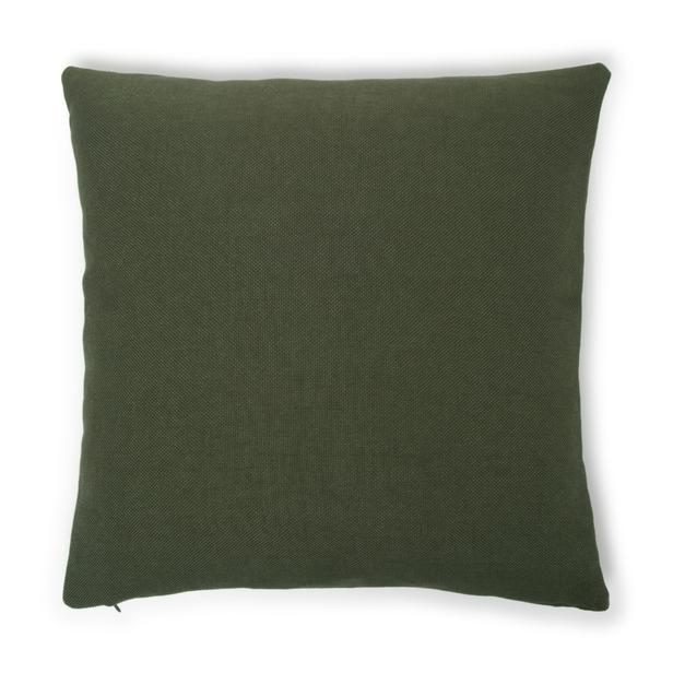 Melodie Keten Kırlent (Haki) - 50x50 cm