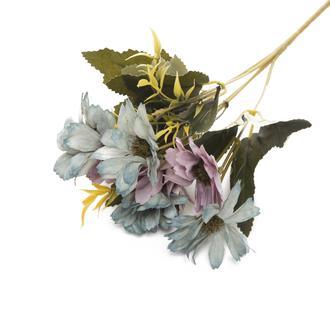Q-Art Candy Yapay Çiçek Buketi - Mavi