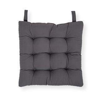 Iris Home Sandalye Minderi 43x43 cm - Antrasit