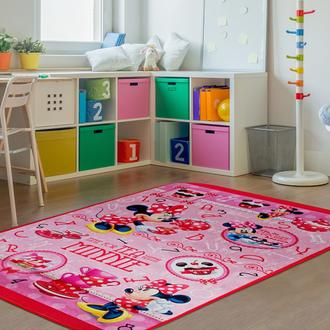 Giz Home Minnie Lisanslı Çocuk Halısı (Pembe) - 140x190 cm