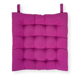 Iris Home Sandalye Minderi 50x50 cm - Mürdüm
