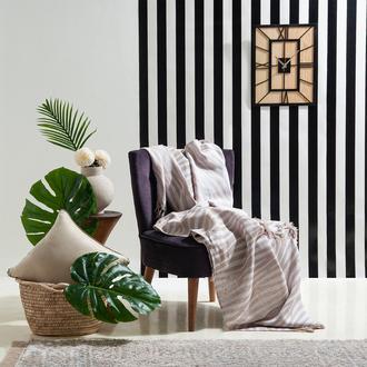 Eponj Home Verda Keten Koltuk Örtüsü (Bej) - 170x220 cm
