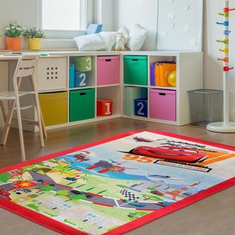 Giz Home Cars Lisanslı Çocuk Halısı - 100x140 cm