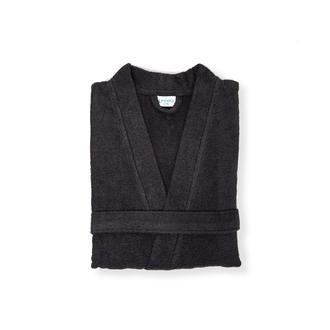 Linnea Plain Erkek Kimono Bornoz (Antrasit) - S / M Beden