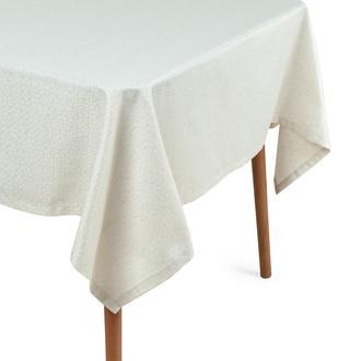 Cynthia Annika Simli Masa Örtüsü (Bej) - 150x250 cm