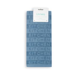 Linnea Kitchen Tekli Mutfak Havlusu - 40x60 cm - Mavi
