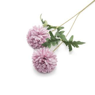 Q-Art Soft 2'li Yapay Çiçek - Mor