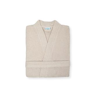 Linnea Plain Erkek Kimono Bornoz - L/XL - Bej