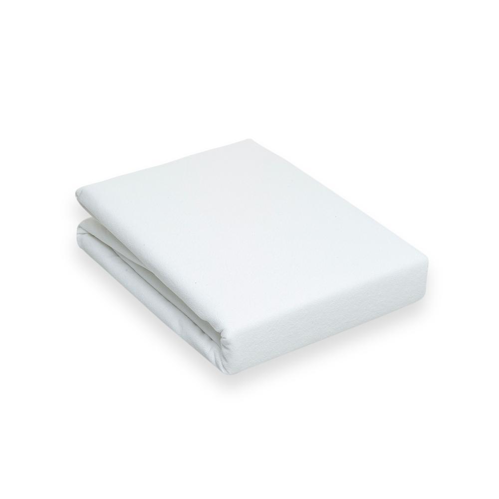 Mislina Sıvı Geçirmez Köşe Lastikli Çift Kişilik Alez - 180x200 cm - Beyaz
