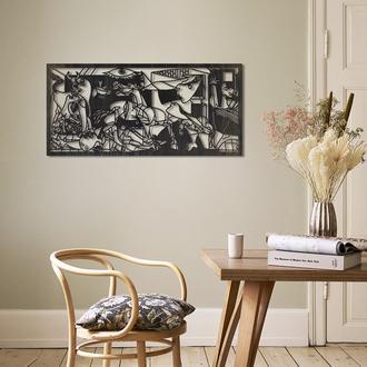 Artepera APT104 Guernica Metal Tablo ( Eskitme ) - 43x95 cm