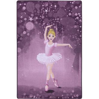 Confetti Little Ballerina Bukle Çocuk Halısı (Pembe) - 100x150 cm