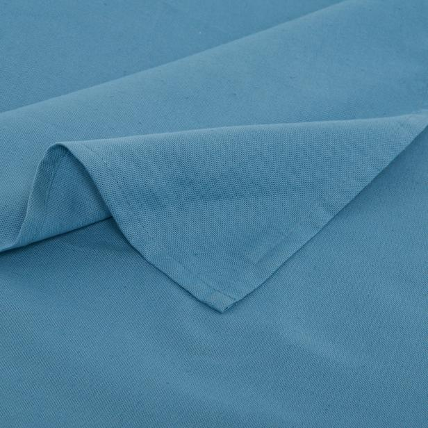 Neptün Düz Renk Masa Örtüsü (Mavi) - 140x180 cm