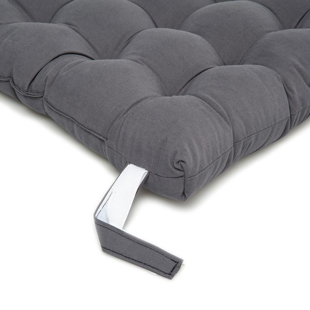 Iris Home Sandalye Minderi 50x50 cm - Antrasit