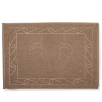 Hobby Hayal Ayak Havlusu (Sütlü Kahve) - 50x70 cm