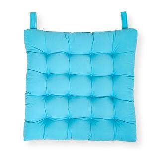 Iris Home Sandalye Minderi 50x50 cm - Turkuaz