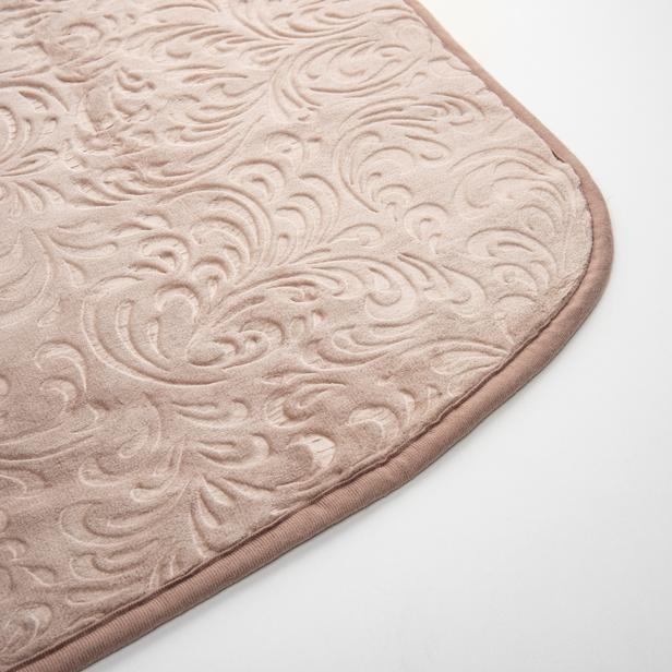 Sesli Home Deluxe Gold Vizon Çift Kişilik Battaniye (Taş) - 220x240 cm