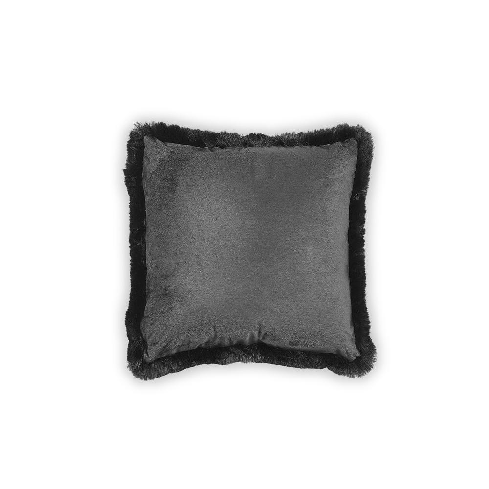 Just Home Post Kırlent (Siyah) - 45x45 cm
