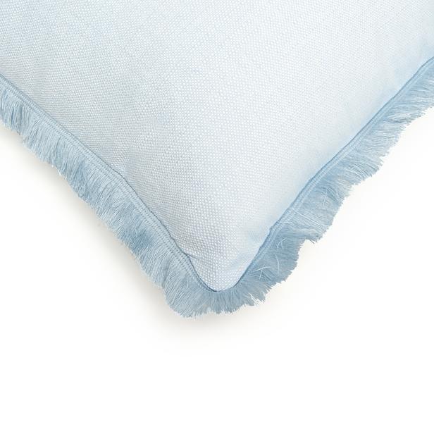 Cynthia Kırık Panama Kırlent (Mavi) - 43x43 cm
