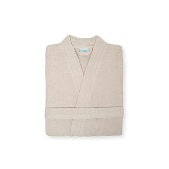 Linnea Plain Erkek Kimono Bornoz S/M - Bej