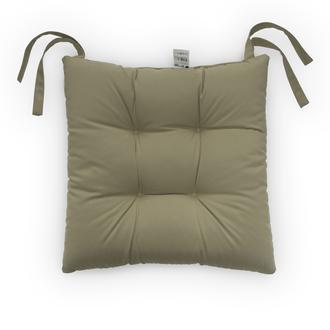 Iris Home Sandalye Minderi (Camel) - 40x40 cm