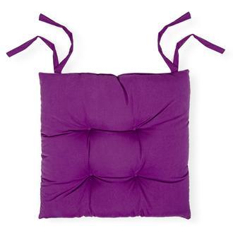 Iris Home Sandalye Minderi (Mürdüm) - 40x40 cm