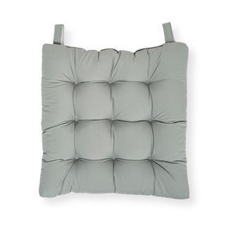 Iris Home Sandalye Minderi 43x43 cm - Gri