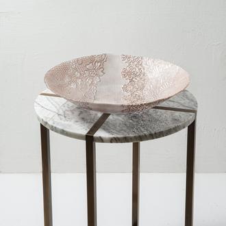 Q-Art Victoria Dekoratif Tabak -40 cm