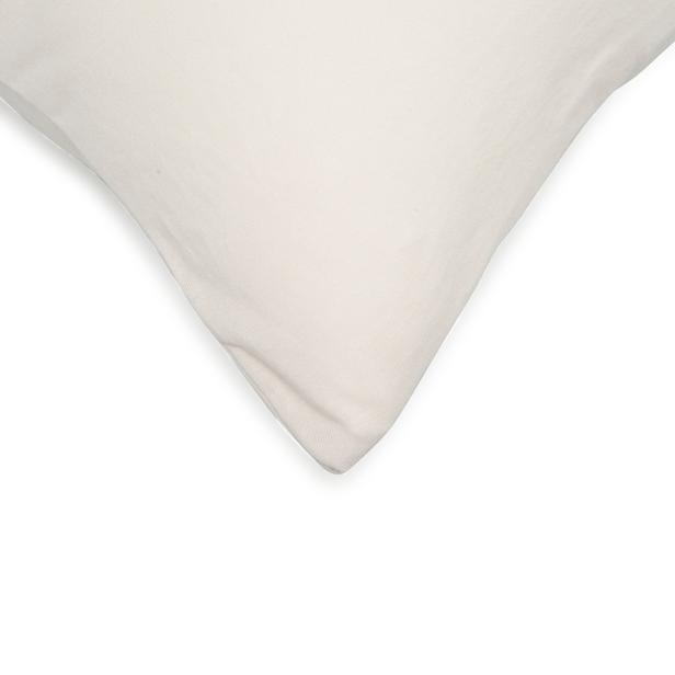Açelya 2'li Penye Yastık Kılıfı (Taş) - 50x70 cm