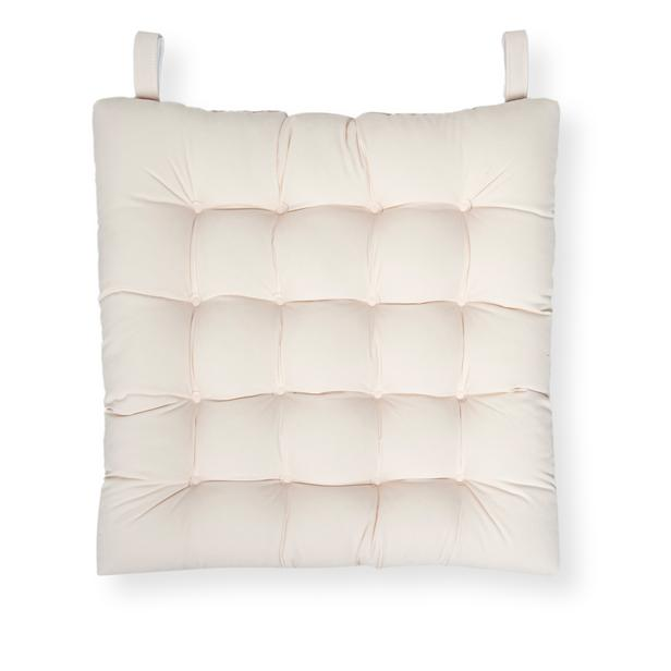 Iris Home Sandalye Minderi 50x50 cm - Krem