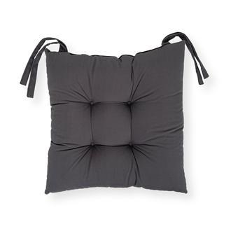 Iris Home Sandalye Minderi 40x40 cm - Antrasit