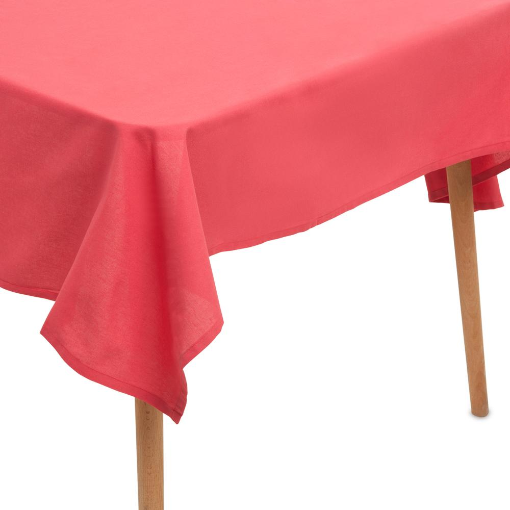 Neptün Düz Renk Masa Örtüsü (Kırmızı) - 140x220 cm