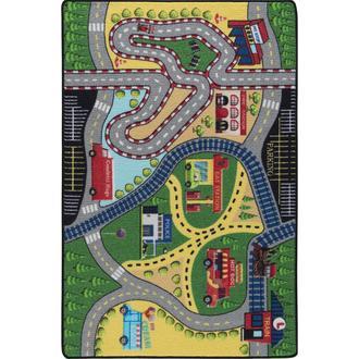 Confetti Freeway Çocuk Halısı 133x190 cm - Yeşil