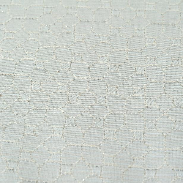 Cynthia Annika Simli Masa Örtüsü (Bej) - 150x300 cm