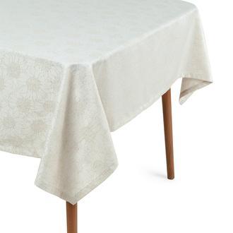 Cynthia Salma Simli Masa Örtüsü (Bej) - 150x220 cm