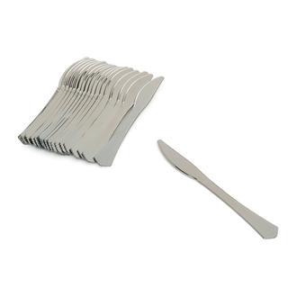 Roll-Up Silver Dreams 18'li Metalik Bıçak - Silver/19 cm