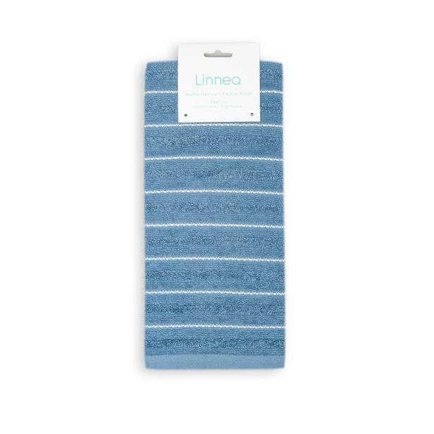 Linnea Joven Tekli Mutfak Havlusu (Mavi) - 40x60 cm