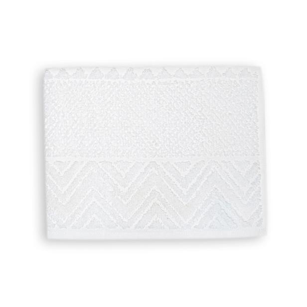 Linnea Pelas Banyo Havlusu (Beyaz) - 70x140 cm