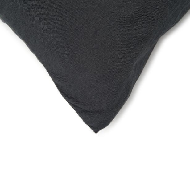 Açelya Penye 2'li Yastık Kılıfı (Siyah) - 50x70 cm