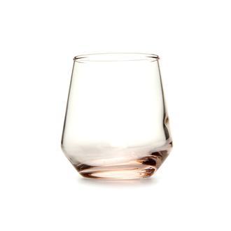 Paşabahçe 420202 Allegra 6'lı Kahve Yanı Su Bardağı - Pembe / 115 cc