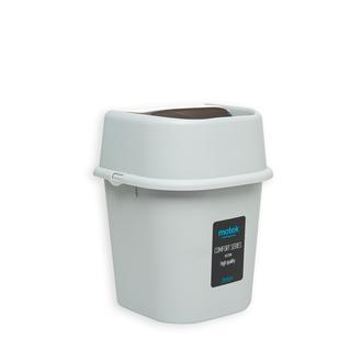Motek Banyo Çöp Kovası (Gri) - 3 lt