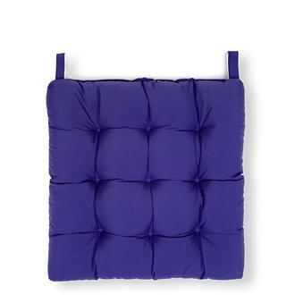Iris Home Sandalye Minderi (Mor) - 43x43 cm