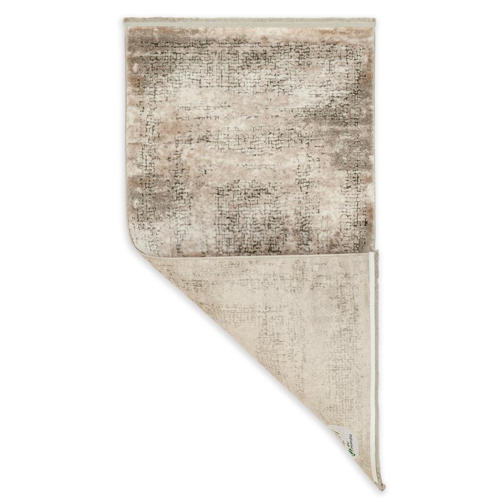 Bahariye Ezgi TW 5660 Makine Halısı (Beyaz/Yeşil) - 79x150 cm